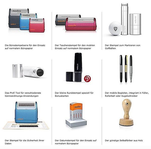 Stempel-Selbstfärber-Holzstempel-Rundstempel-Golfballstempel-Stiftstempel-Taschenstempel-Bürostempel